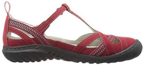 Flat Encore Jambu Women's Charley Red JBU by Wwq0XzgHz