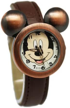 Copper Colored Mickey Mouse Face Watch