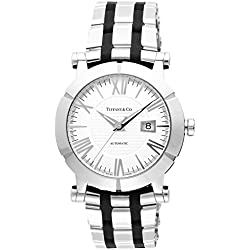 Tiffany & Co. Watch Atlas Gent Silver Dial Automatic Winding Z1000.70.12a21a00a Men