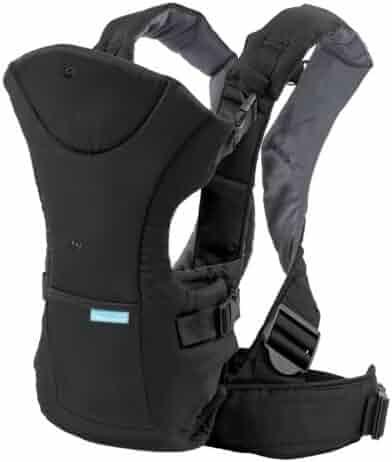 Infantino Flip Front 2 Back Carrier, Black