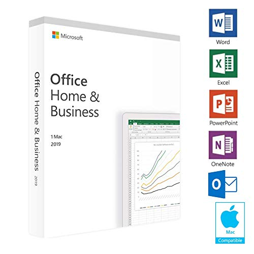 Microsoft Office Home and Business 2019 | 1 device, PC Key Card