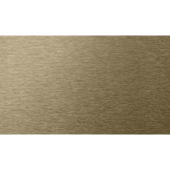 Pack of 32 Boulanger Stillest Peel-N-Stick Metal Wall Tile Copper 3-Inch by 6-Inch