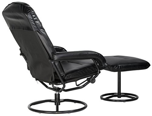 Comfort Products 60-0582 Leisure Recliner Chair with 10-Motor Massage & Heat, Black by Comfort Products (Image #4)'