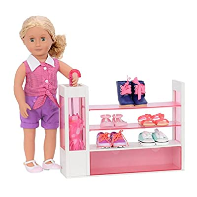 Our Generation Sort-a-Shoe Set for 18 Dolls: Toys & Games