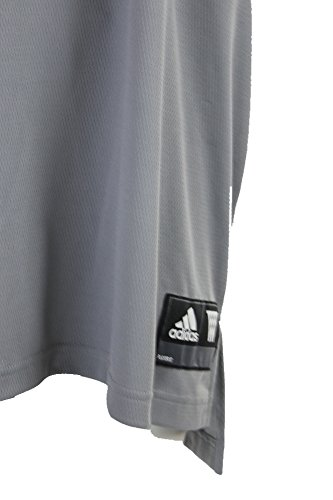 Adidas Menns Lag Hastighet Tank Lys Grå / Svart