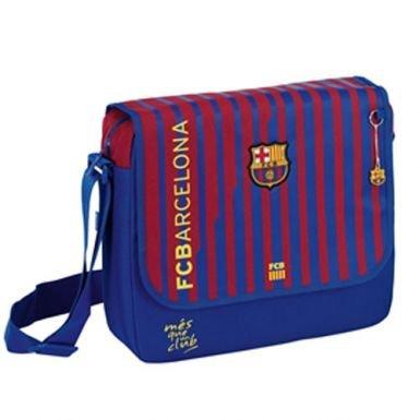 FC Barcelona Striped Shoulder Bag