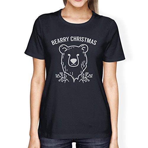 365 manga Size Printing mujer Bearry Camiseta Bear One Christmas para de corta tFtrpqf