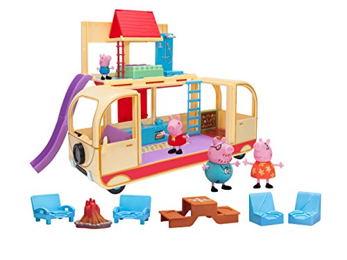(Peppa Pig's Transforming Campervan Feature Playset)