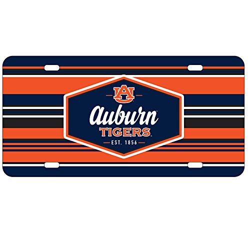 (Wincraft Auburn Tigers Official NCAA License Plate Acrylic)