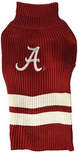 Pets First Collegiate Alabama Crimson Tide Dog Sweater, Large ()