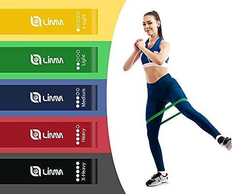 Amazon.com: Limm Bandas de resistencia de ejercicio, juego ...