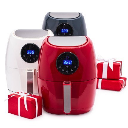 Sur La Table HealthyFry Air Fryer, Red