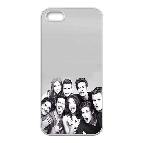 U3D11 Teen Wolf G4X8IH coque iPhone 4 4s cellulaire cas de téléphone couvercle coque blanche DC1TTW5QI