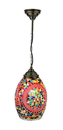 Mosaic Pendant Light Shade in US - 8