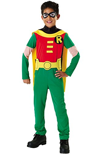 Teen Titans Child's Robin Costume, Small ()