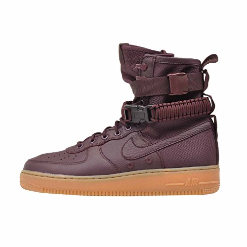 Nike SF Air Force 1 Men's Sneakers Deep Burgundy/Deep Burgundy 864024-600 (13 D(M) US)