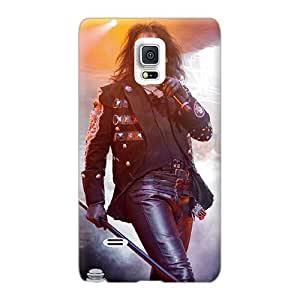 Aimeilimobile99 Samsung Galaxy Note 4 Scratch Protection Phone Covers Allow Personal Design Vivid Alice Cooper Band Series [DCY2608OuRb]