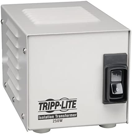 Tripp Lite 1000W Isolation Transformer with Surge 120V 4 Outlet 6ft Cord HG TAA