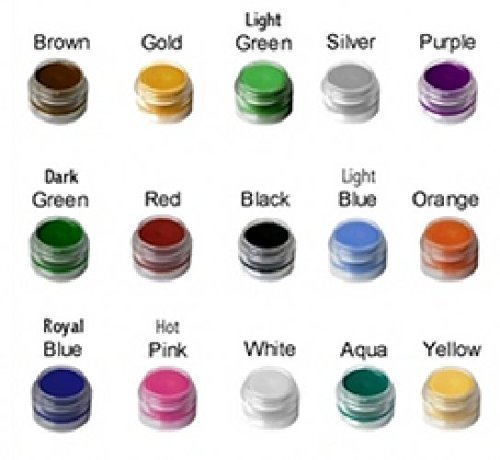 Face Paint - Made in USA, Certified Organic Face Paint for Kids, No Lead, Stacking Jars, For Sensitive Skin, Best for Birthday Parties and is Great For Gifts.. (Aqua Colors Face Paint compare prices)