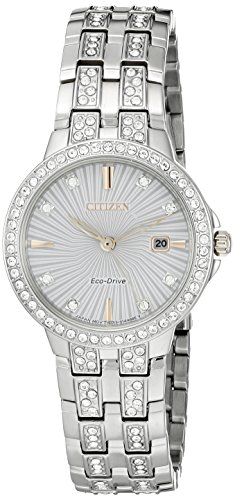 Citizen Women's 'Silhouette' Quartz Stainless Steel Casual Watch (Model: EW2340-58A)