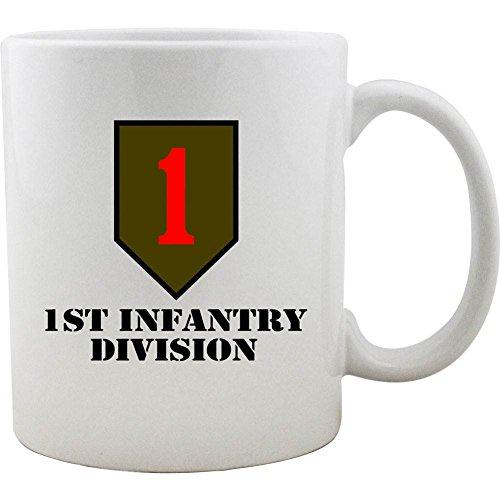 (Army 1st Infantry Division 11oz. Coffee Mug)