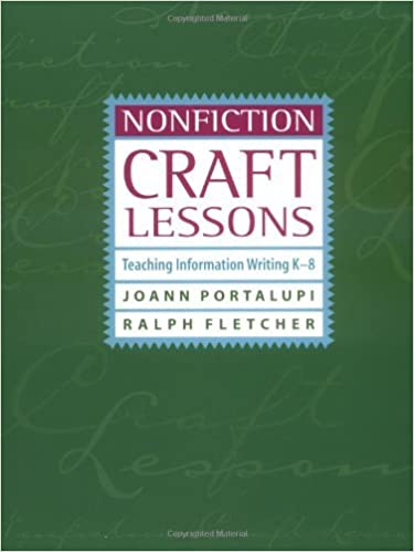Amazon nonfiction craft lessons teaching information writing k amazon nonfiction craft lessons teaching information writing k 8 ebook joann portalupi kindle store fandeluxe Gallery