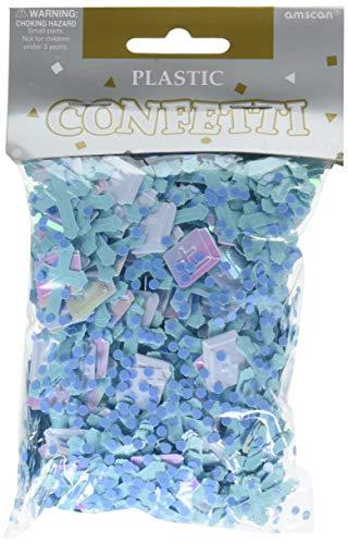 (Amscan Blue Cross Foil Confetti, 2.5 oz.)
