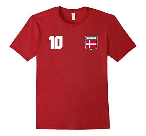 Denmark Soccer Jersey - 4