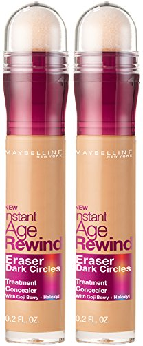 Maybelline New York Instant Age Rewind Eraser Dark Circles Treatment Concealer Makeup, Medium, 2 count by Maybelline New York