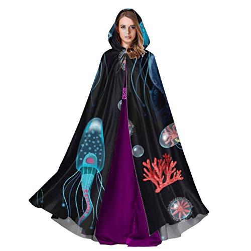 Tank Girl Ripper Costumes - Yngxil Aquarium of Jellyfish Fish Seaweed