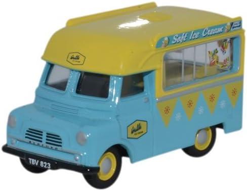 Oxford Diecast 76CA002 Bedford CA Ice Cream Walls