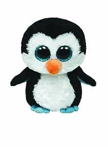 "Ty Beanie Boos Waddles Penguin 16"" Plush, Large"