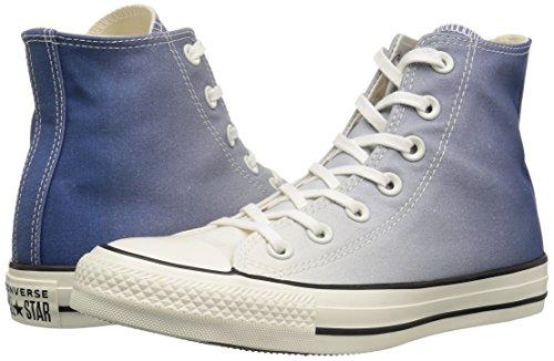 Chuck Converse Donna Mason egret All Blue Ombre Taylor egret Star Collo Alto Ffqxfdr