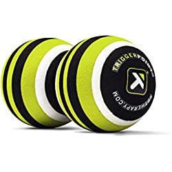 TriggerPoint MB2 Double Massage Ball Roller for Back and Neck Relief