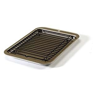 Amazon Com Nordic Ware Toaster Oven 2 Piece Broiler Set