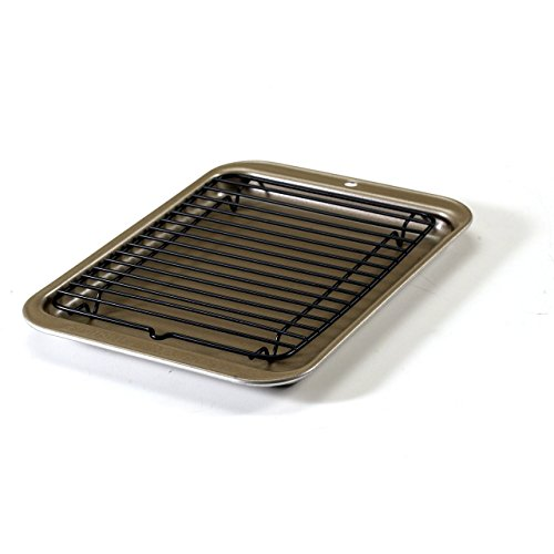 Nordic Ware Toaster Oven 2-Piece Broiler Set (Small Oven Rack compare prices)