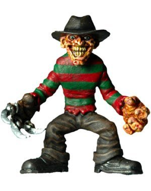 - Cinema of Fear Tiny Terrors 2 inch Freddy Kreuger Action Figure