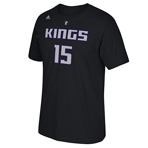 DeMarcus Cousins #15 Men's Game Time Short Sleeve Go-To Tee, X-Large, Black ()