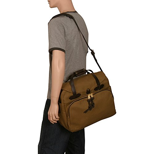 2d7fa9c15a27 Filson Unisex Padded Laptop Bag/Briefcase