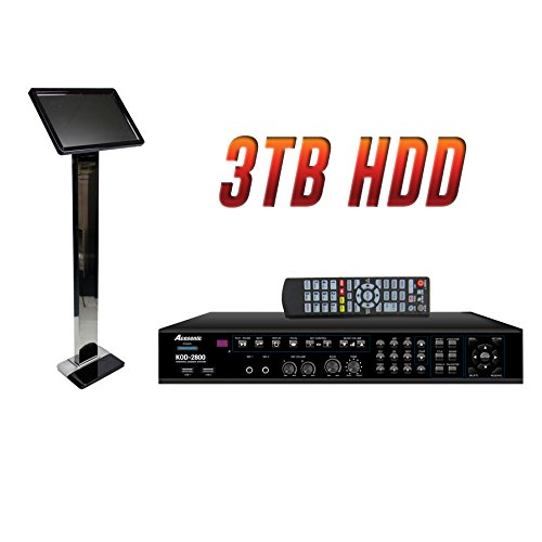 Chinese Karaoke (Acesonic KOD-2800 Karaoke Player 3TB 9,500 Chinese Songs with Touch Screen)
