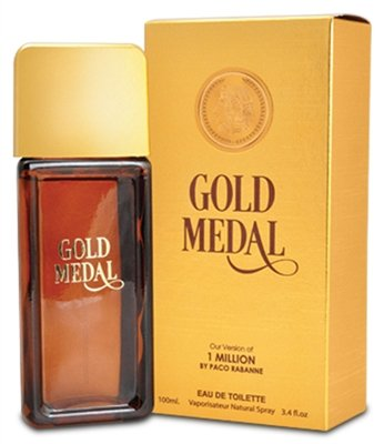 Gold Medal by Mirage Brand Fragrances inspired by 1 MILLION