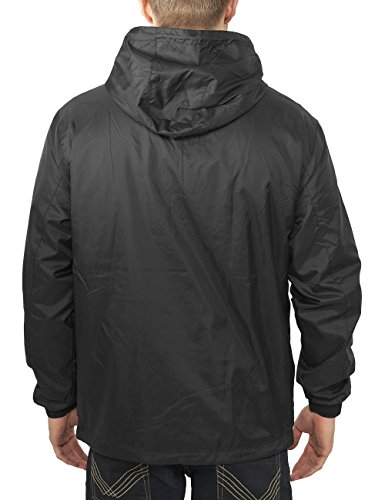 black Over Windbreaker Nero Giacca Pull Uomo Urban Classics wqEOxRq0