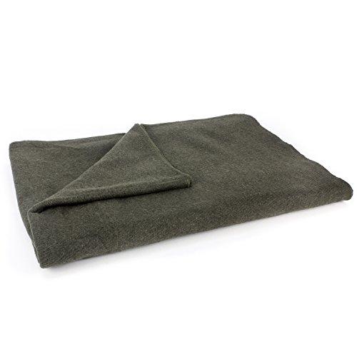 MediTac Grey Warm Wool Fire Retardant Blanket, 62