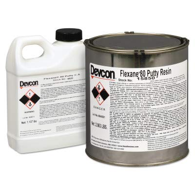 Flexane® 80 Putty - 4lb.can flexane 80 puttyurethane ru by Devcon (Image #1)