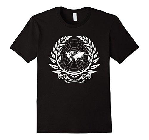 Radar Maps - Flat Earth Society World Map Radar The Earth Is Flat Shirt