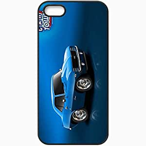 Personalized iPhone 5 5S Cell phone Case/Cover Skin 1920x1200 Blue 69 Camaro Black