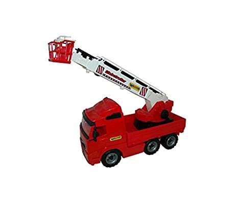 4ebf5a7bb7b Image Unavailable. Image not available for. Color: Wader Quality Toys  PowerTruck Fire Engine ...