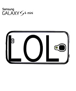 LOL Troll Meme Smiley Mobile Cell Phone Case Samsung Galaxy S4 Mini White by mcsharks
