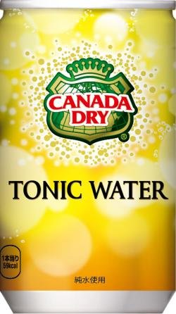 Canada Dry Tonic Water (Coca-Cola Canada Dry tonic water 160ml cans 30 pieces 2 box set)