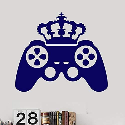 yiyitop Gamepad Video King Crown Juego Etiqueta Adhesiva Juego ...